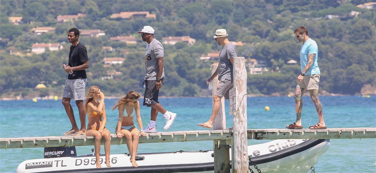 Chris Tucker Relaxes in St. Tropez