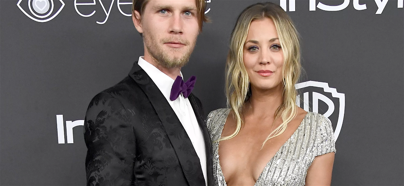 Kaley Cuoco Told 'Leonard Would Be Upset' In Valentine's Kiss With Husband Karl Cook