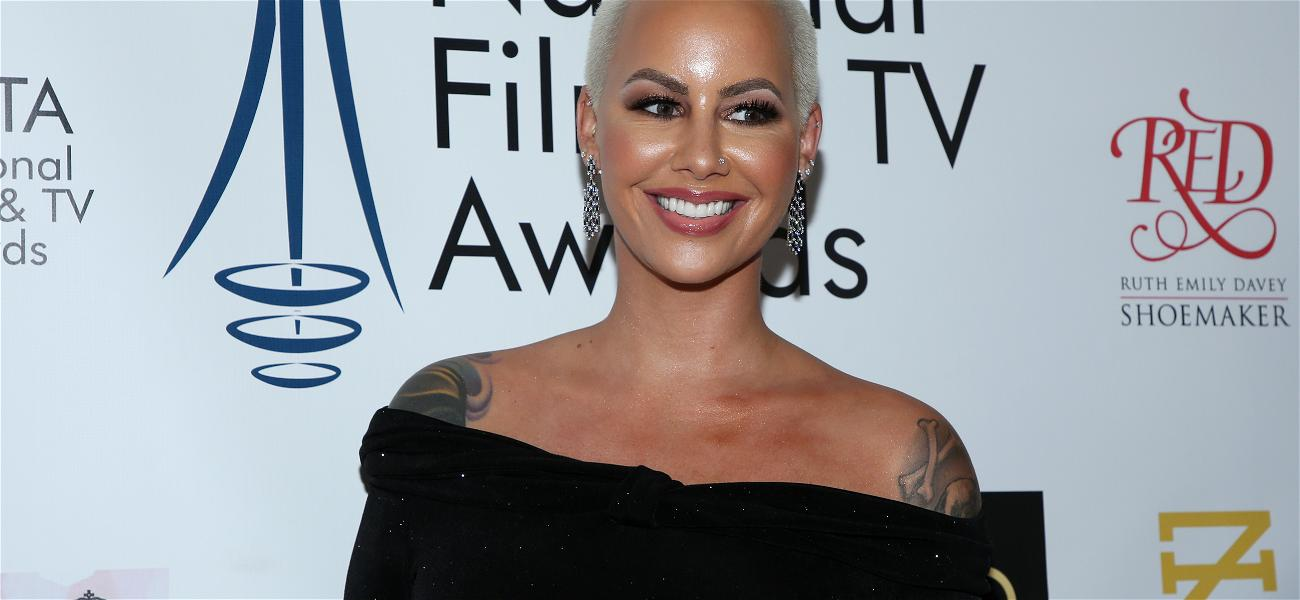 Amber Rose Claps Back At Wendy Williams And The Haters Over Her New Face Tattoo Inspired By Her Sons