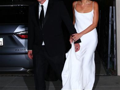 Quentin Tarantino Daniela Pick Wedding Pics
