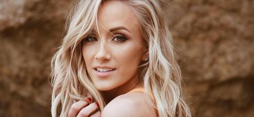 Gymnast Nastia Liukin All Feathers, No Pants In Electric Boots
