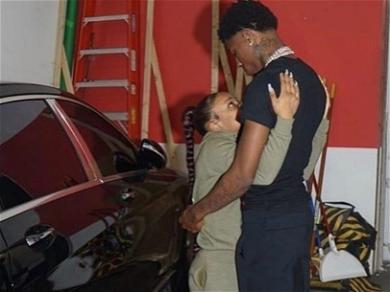 NBA Youngboy's Girlfriend, YaYa Mayweather's Alleged Stabbing Victim Is Seen Wearing Arm Cast
