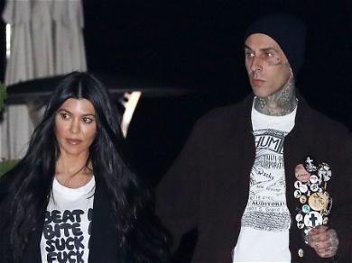 Travis Barker Pampers Kourtney KardashianFor Her 42nd Birthday