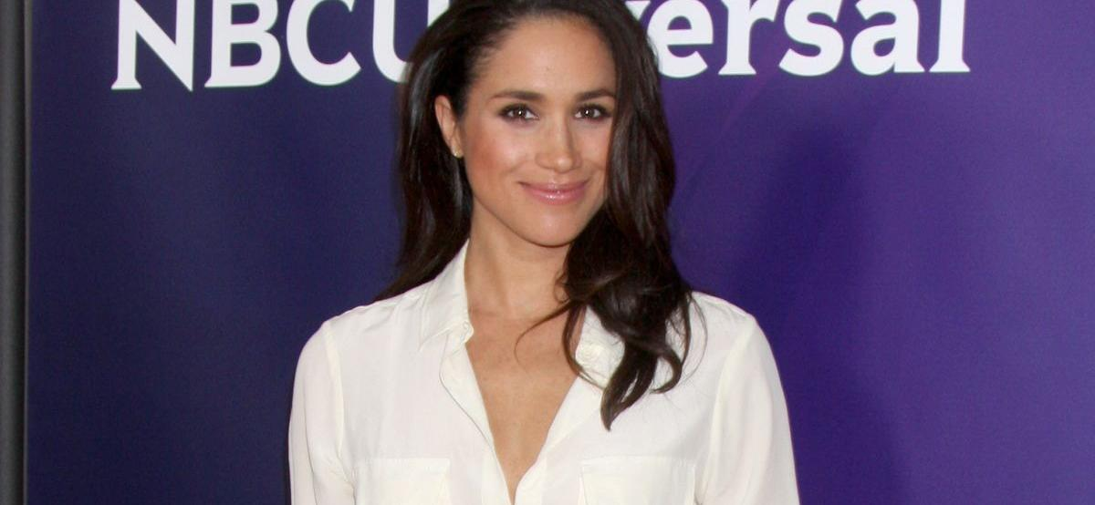 Meghan Markle Exhales Confidence In Messy Bun Hairstyle
