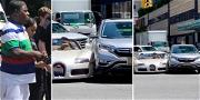 Tracy Morgan's Brand New Bugatti Smashed Up in NYC