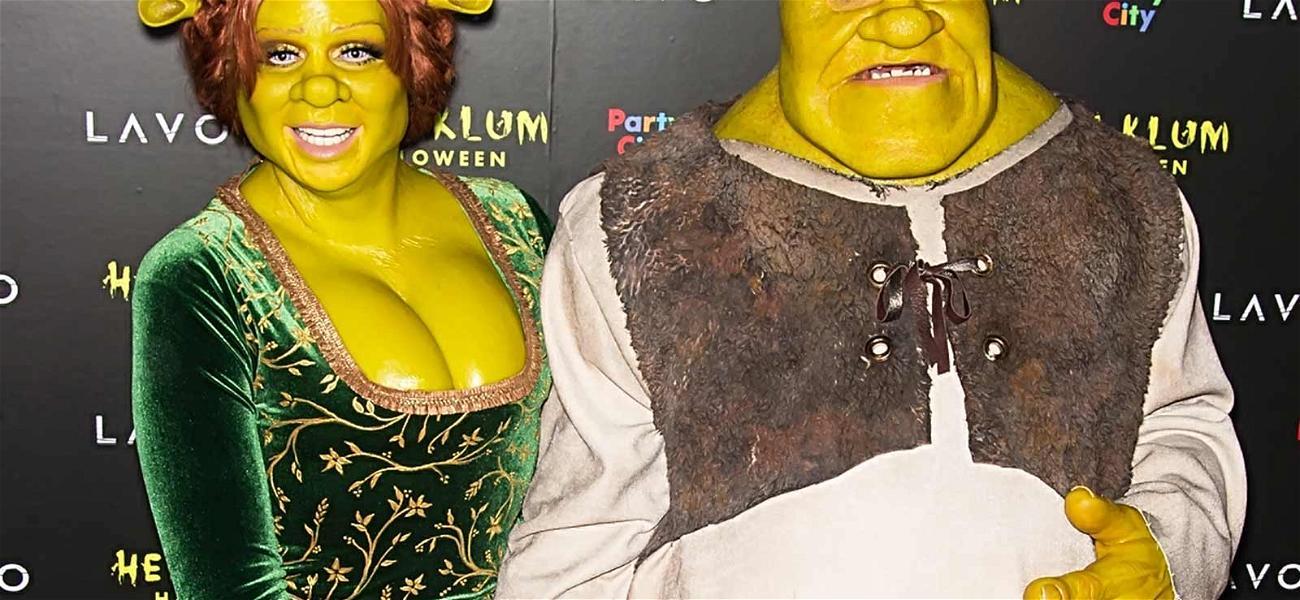 Heidi Klum Wins Halloween Again as Princess Fiona from 'Shrek'