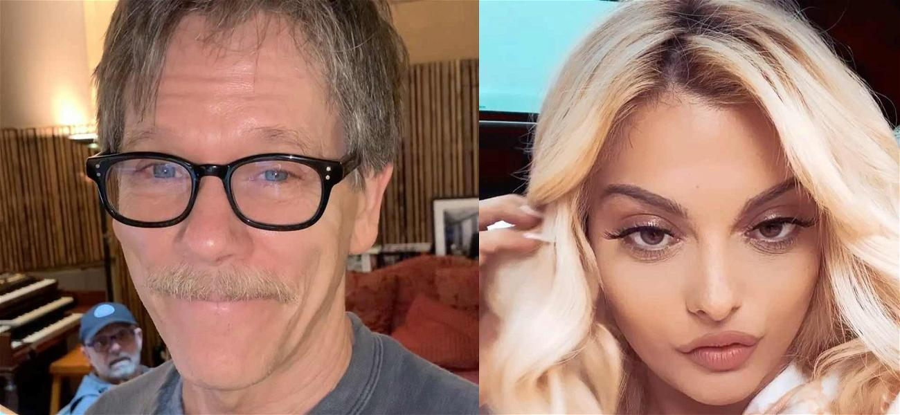 Kevin Bacon Applauds Bebe Rexha's Revealing #IstayHomefor Challenge