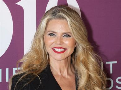 Christie Brinkley, 65, Drops Jaws In Red String Bikini, Explains iPhone Troubles