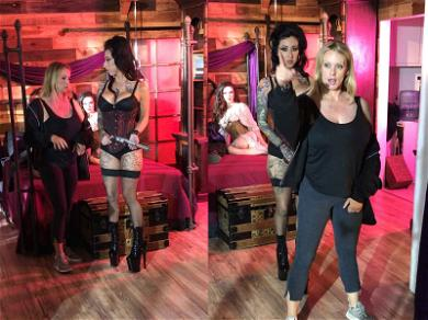 Stormy Daniels Whips Out the Big Guns While Directing Pornstars in Music Video