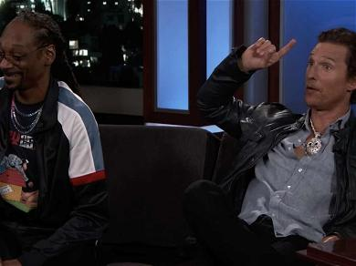 Snoop Dogg Switched Out Matthew McConaughey's Prop Weed During 'Beach Bum'