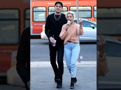 Halsey Flips the Bird to Paparazzi on Day-Date with G-Eazy