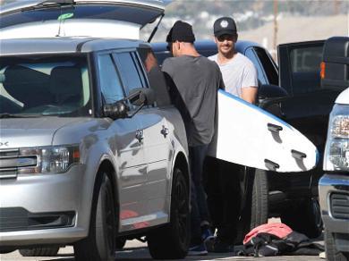 James Franco Hangs Ten in Malibu Before Oscar Snub
