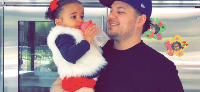 Rob Kardashian Shares CUTEST Video Of Daughter During Nasty Custody War With Blac Chyna