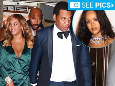 Jay-Z and Beyoncé Were the Belles of Rihanna's Diamond Ball