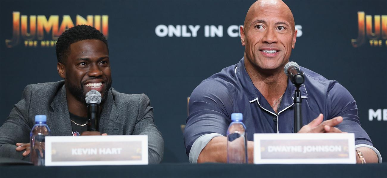 Dwayne 'The Rock' Johnson Says His 'Heart Stopped' When He Heard The News Of Kevin Hart's Car Crash