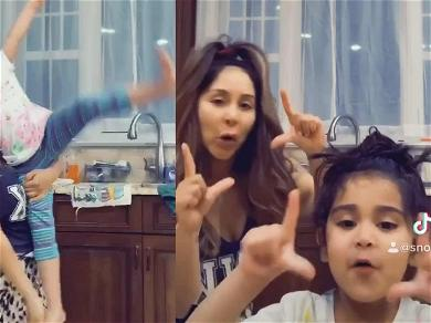 Snooki's Daughter Giovanna Made Her Download TikTok App While On Self-Quarantine And It's Adorable!