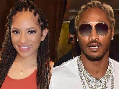 Rapper Future's Alleged Baby Mama Cindy Parker Rolls Around In See-Through Lingerie