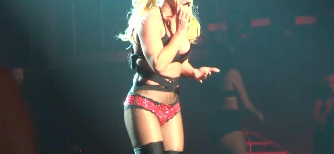 Britney Spears Brings First Responders to Las Vegas Show