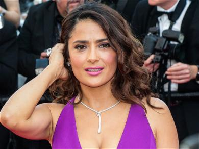 Salma Hayek Can't Help Taking Animals Off Of The Streets