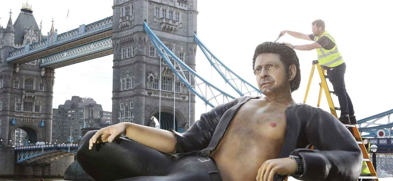 God Creates Man, Man Creates Sexy Jeff Goldblum Sculpture