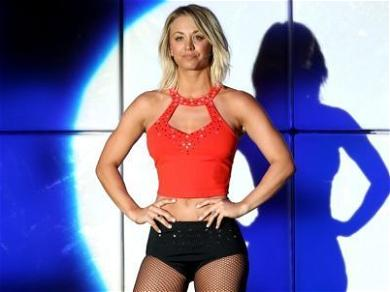 Kaley Cuoco Shows Off Slamming Yoga Body In Mint Sports Bra: '6.24 A.M.'