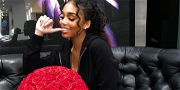 Lori Harvey's Fans Concerned About Who's Cleaning Up Her House After Future Covers It In Roses