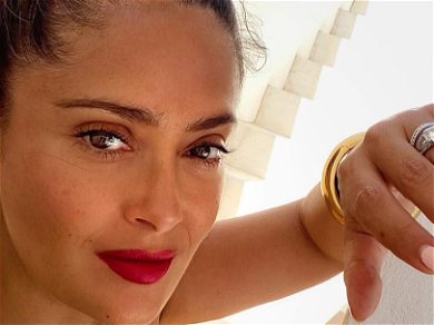 Yellow Is The Color Salma Hayek's Energy For Skimpy Swimsuit Birthday Pic
