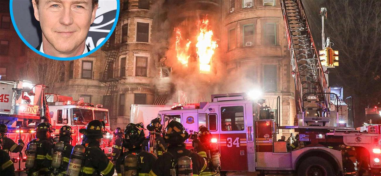Ed Norton's Production Company Wants Out of $7 Million Deadly Fire Lawsuit