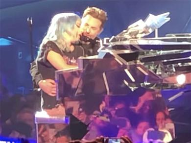 Lady Gaga and Bradley Cooper Surprise Las Vegas Crowd With 'Shallow' Duet