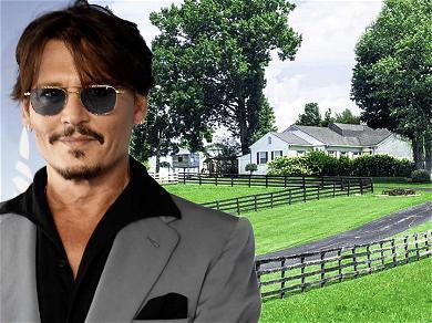 Johnny Depp Sells Kentucky Farm For $1.3 Million Amid Amber Heard Legal Battle