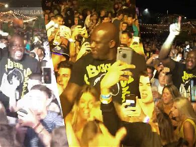 Shaq is the Biggest Party Animal at Ultra Music Festival