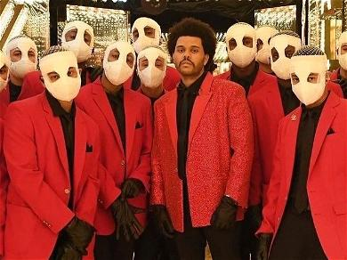 The Weeknd Embraces Memes From Super Bowl Performance