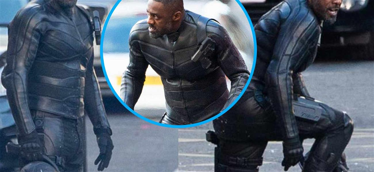 Idris Elba Seen for the First Time on the Set of 'Fast and Furious' Spin-Off