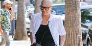 Selma Blair Looks Good While Strolling Through L.A. During MS Battle