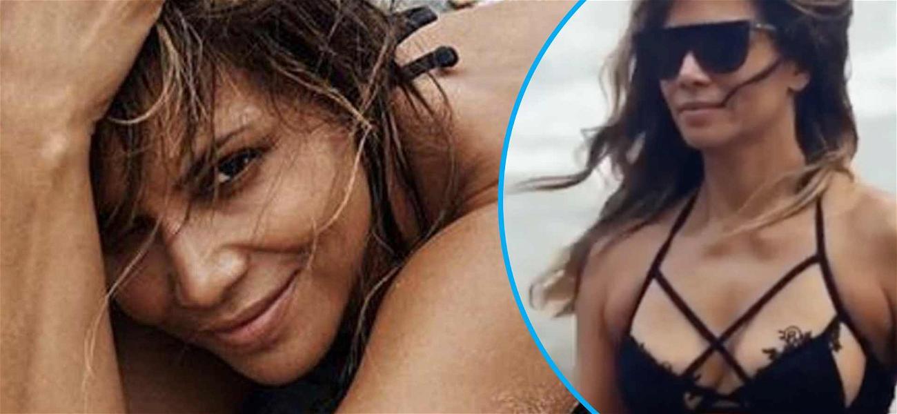 Halle Berry Goes Full Dominatrix In Cut-Out Bikini At 54: It's 'Leo Season'