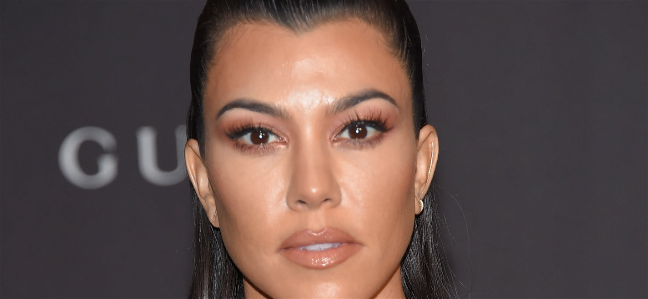 Kourtney Kardashian Shows Off Silly Selfie Ahead Of First In-Person Poosh Meeting In A Year