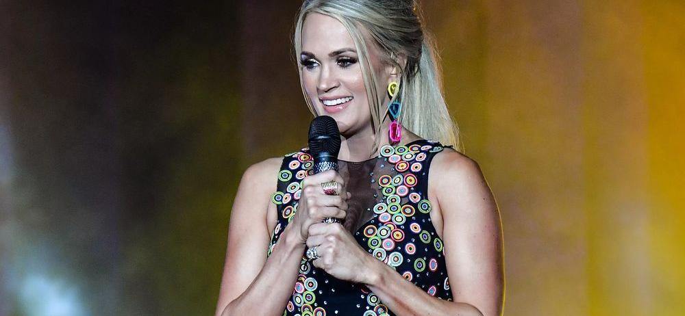 Carrie Underwood's Yoga Pants Photo Sparks Complaints
