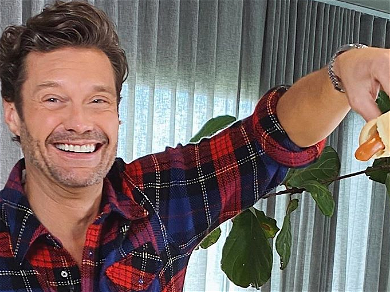 Ryan Seacrest Gets Sauced Up, Has Bone to Pick With Kelly Ripa
