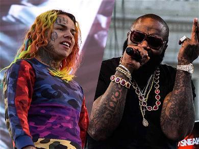 Rick Ross Drops Homophobic Slur Towards 6ix9ine on Meek Mill's Album: 'Purple Hair Got Them F*****s On Your Back'