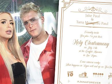 Jake Paul & Tana Mongeau's Wedding Beef Up Security as Top Influencers Expected to Attend Ceremony