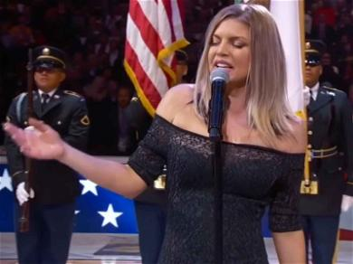 Fergie's Rendition of the National Anthem Leaves Players (and Twitter) Curious and Confused