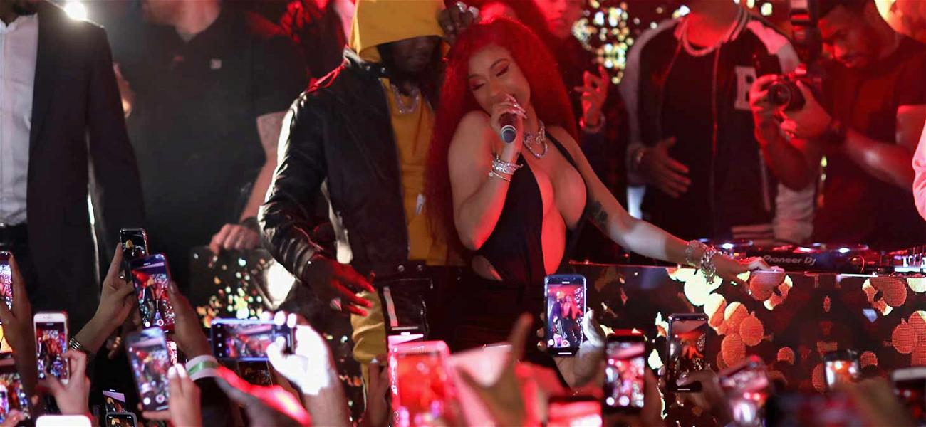 Cardi B and Offset Bring the Heat to Dan Bilzerian's Valentine's Day Party