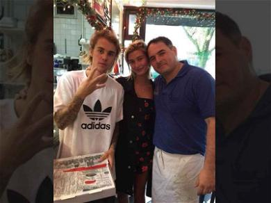Justin Bieber Hits Up Neighborhood Pizza Joint as He Spends Time With Hailey's Fam
