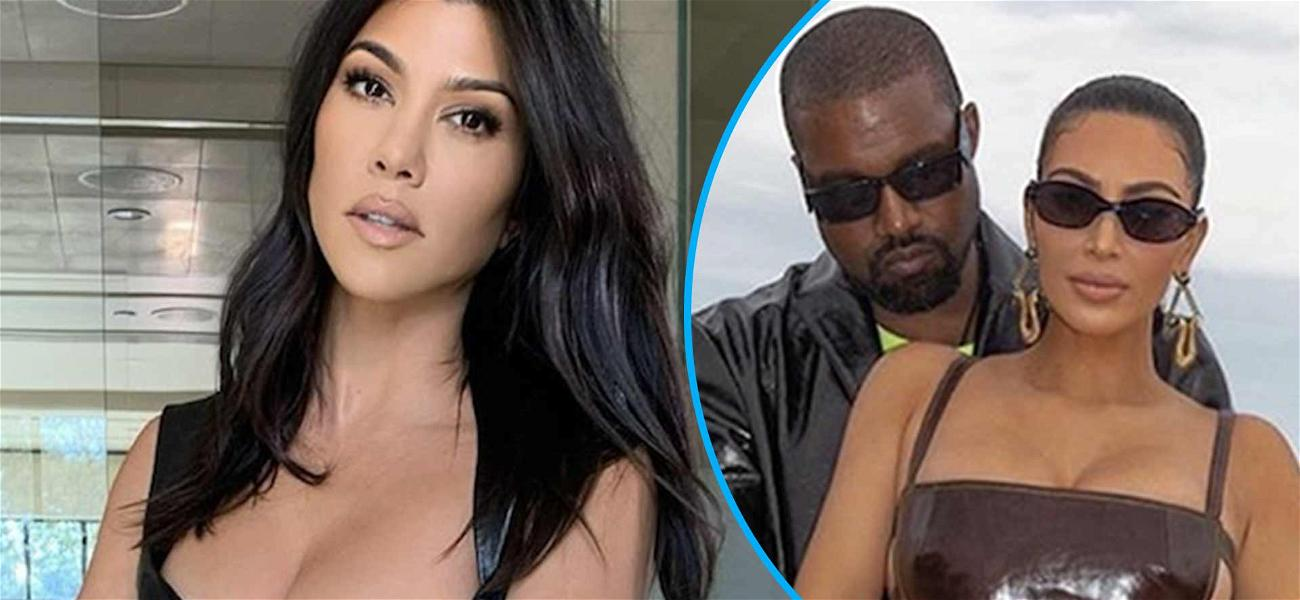 Kourtney Kardashian Slammed For Staying 'Out Of Mix' Amid Kanye West Breakdown