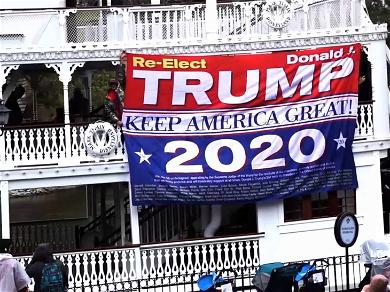 'Trump 2020' Flag Gets Disney Guest Booted from Happiest Place on Earth