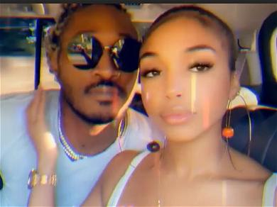 Rapper Future & Girlfriend Lori Harvey's Romantic Vacation Continues, 'Life Is Good' With Coconuts On Beach
