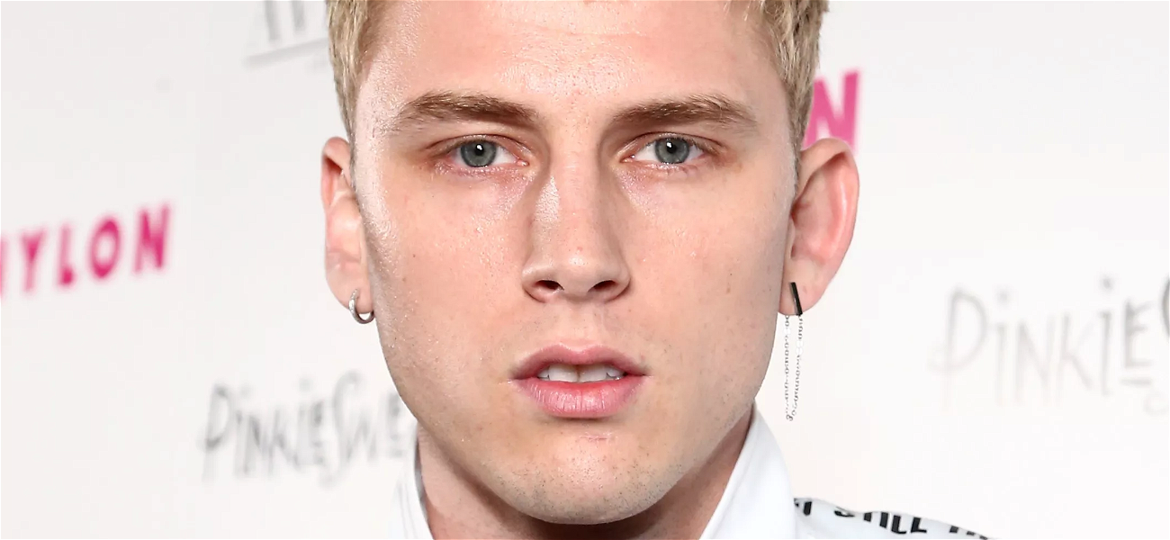 Machine Gun Kelly Shares Romantic Feelings About Megan Fox In New Pic!