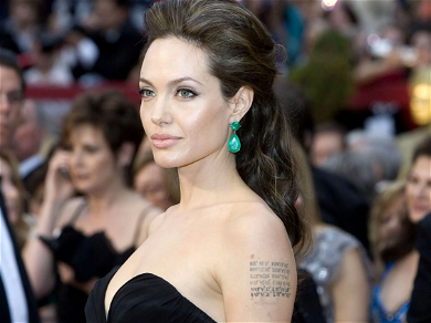 Angelina Jolie Shockingly Poses COVERED In Bees To Raise Awareness For Conservation