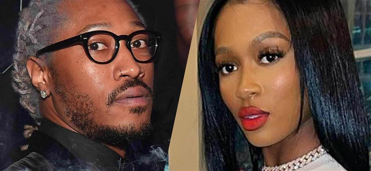 Rapper Future Gifts GF Dess Dior Flossy Diamond Piece, Ex Lori Flashes Michael