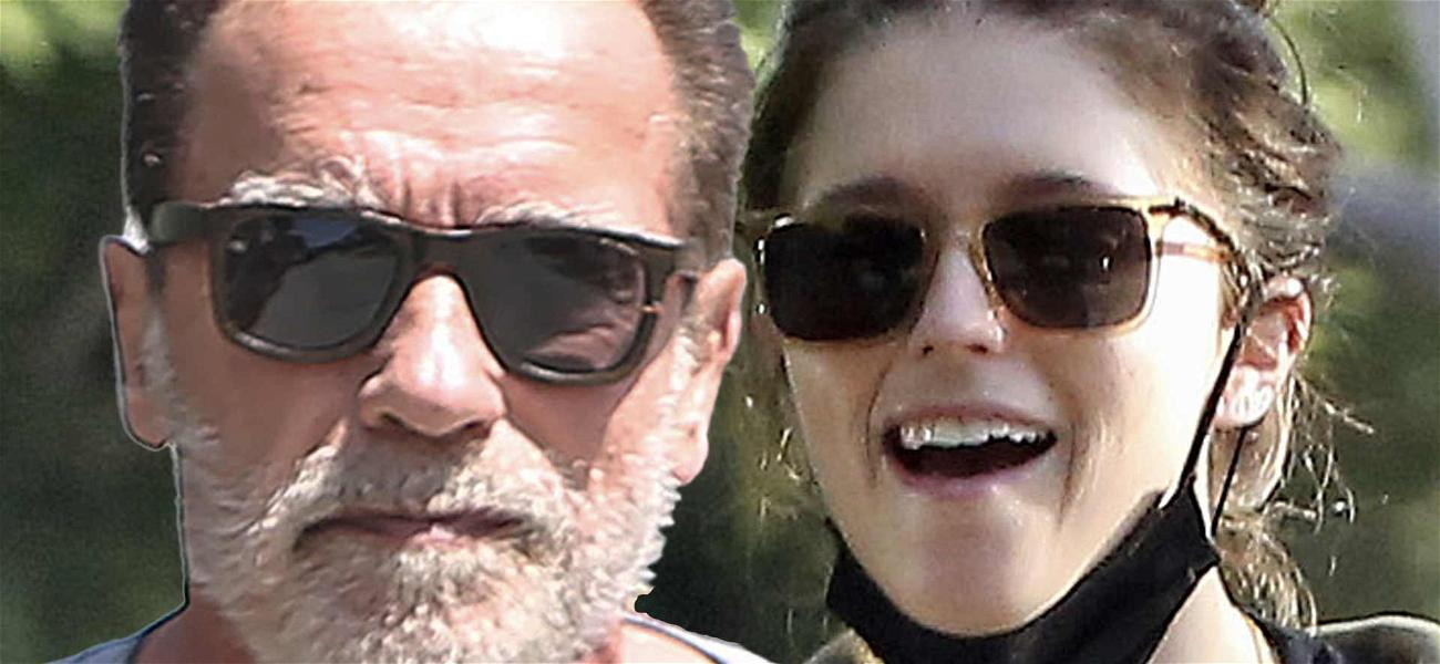Arnold Schwarzenegger Says Daughter Katherine 'Freaks Out' When He Holds Her Baby